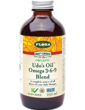FMD (FLORA) UDO' S CHOICE Udo's 3-6-9 Oil Blend 250 ml liquid