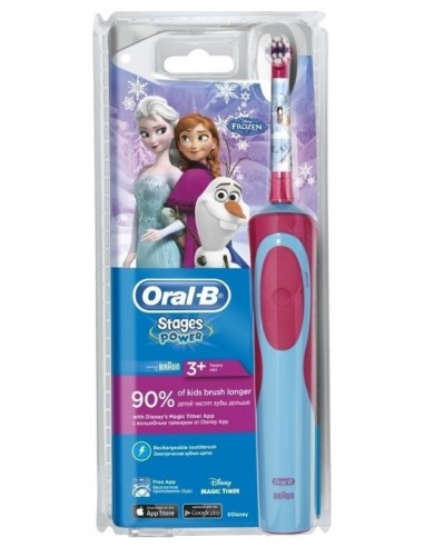 ORAL-B Stages Power Disney Frozen Rechargeable Toothbrush for 3+ years age