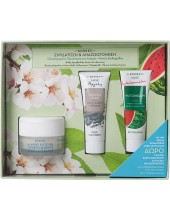 KORRES Almond Blossom Offer Set Day Cream for Oily to Cobination Skin 40ml + FREE GIFT 2 Masks