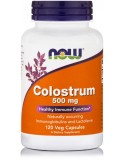 NOW Colostrum 500mg 120 Veg Capsules