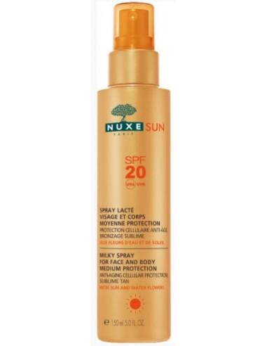 NUXE Sun Face & Body Milky Spray SPF20 150ml