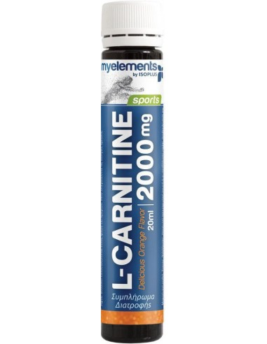MY ELEMENTS L-carnitine 2000mg liquid 20ml