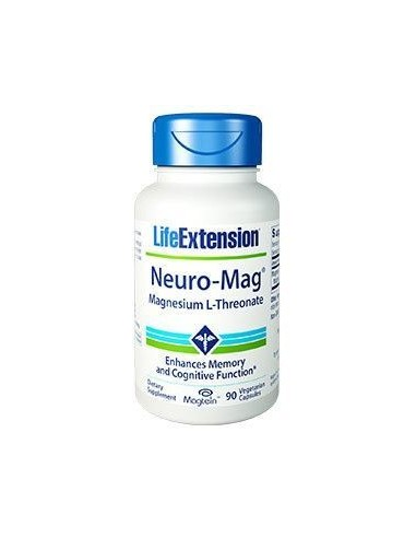 LIFE EXTENSION Neuro-Mag Magnesium L-Threonate 90 Veg.Caps