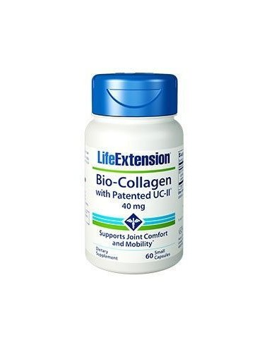 LIFE EXTENSION Bio-Collagen with Patented UC-II 40mg 60 small caps