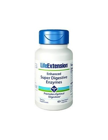 LIFE EXTENSION Enhanced Super Digestive Enzymes 60 veg.caps