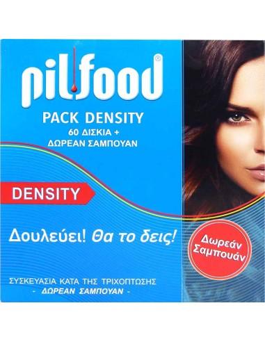 PILFOOD Pack Density 60 caps + GIFT Sampoo