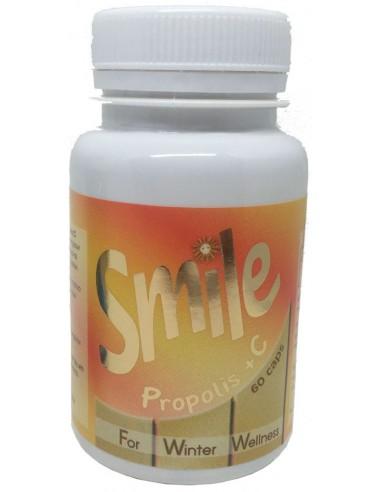 SMILE Propolis & Vitamin C 60caps