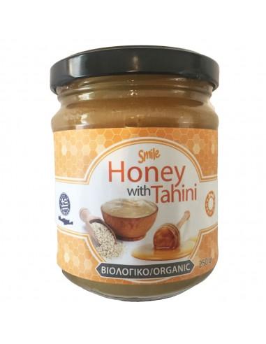 SMILE Thyme Organic Honey & Organic Tahini 250gr