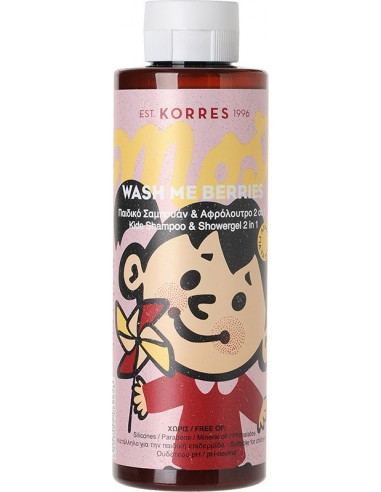 KORRES Wash Me Berries for girls 250ml