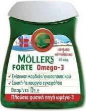 MOLLER'S Forte Omega-3 60 caps