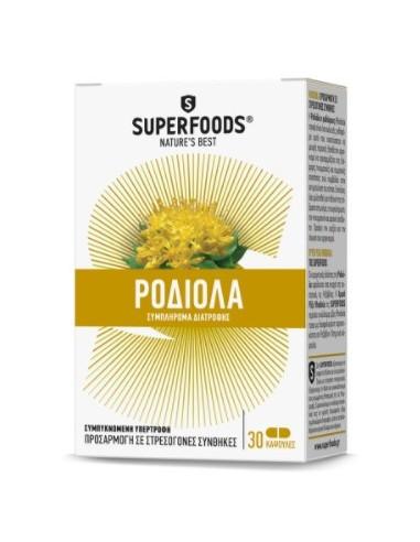 SUPERFOODS ΡΟΔΙΟΛΑ - Rhodiola 30 Caps