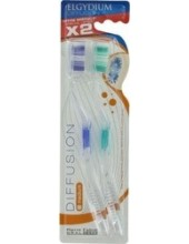 ELGYDIUM Diffusion Toothbrush Medium 2 τεμάχια