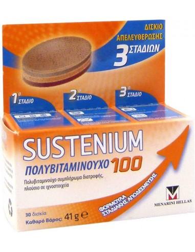 MENARINI Πολυβιταμινούχο 100 Σταδιακής Αποδέσμευσης 30 Δισκία