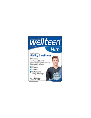 VITABIOTICS Wellteen Him 30 Tabs