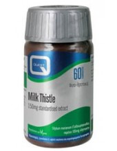 QUEST Milk Thistle 150mg Extract 60 Tabs