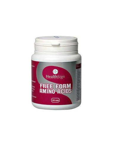 HEALTH SIGN Free Form Amino Acids 120 Caps
