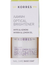 KORRES Nail Care Optical Brightener Base Coat 10ml